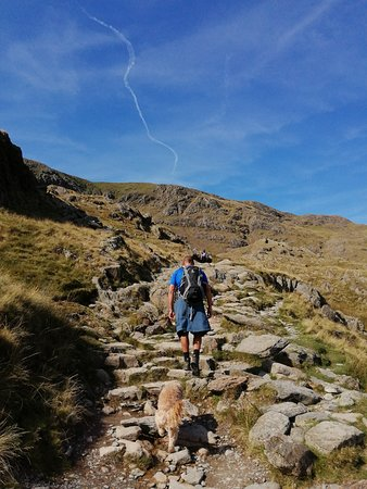 Ascending Old Man of Coniston...