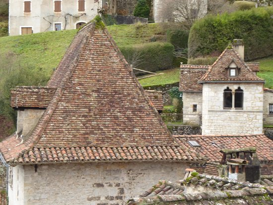 Saint-Cirq Lapopie, France : Cartoline da Saint-Cirq-Lapopie, Francia
