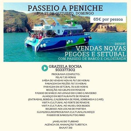 Vendas Novas, Portugalsko: Passeio a Peniche
