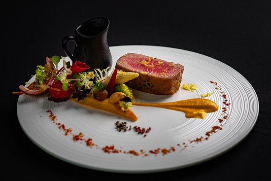 One of the dishes that is served in The Rhythms Restaurant of La Sinfonía del Rey Hotel
