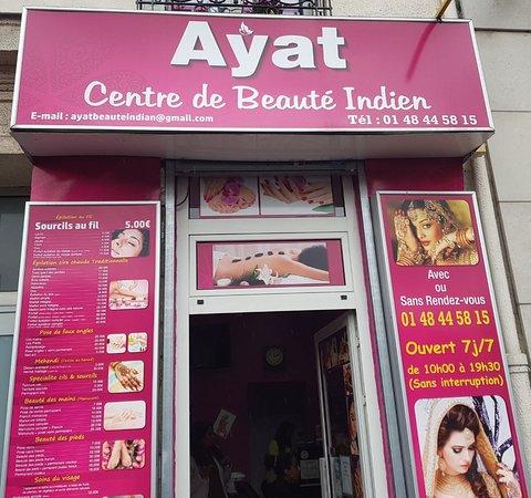 Ayat centre de Beauté Indien