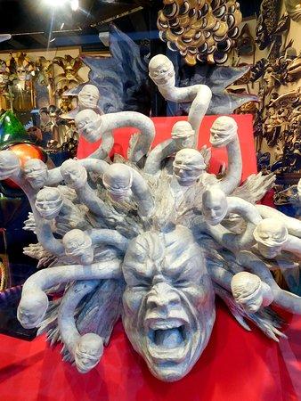 Wild & bizarre masks