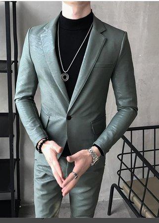 genuine Leathet Suit