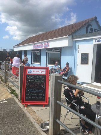 Outside In The Fresh Air Picture Of Oceanside Cafe Bexhill On