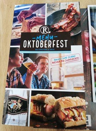 Menu Oktoberfest.