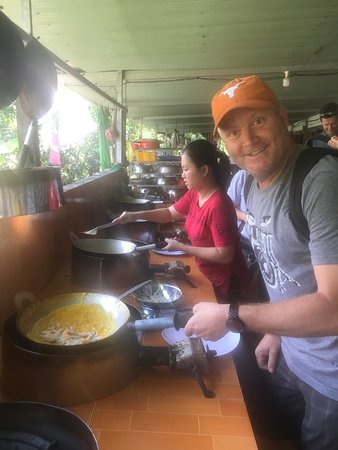 Full-Day Trip to Cai Be Village and Mekong Delta Boat Ride: Learning to make Vietnamese pancakes