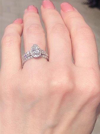 My engagement ring heera diamonds Hatton garden