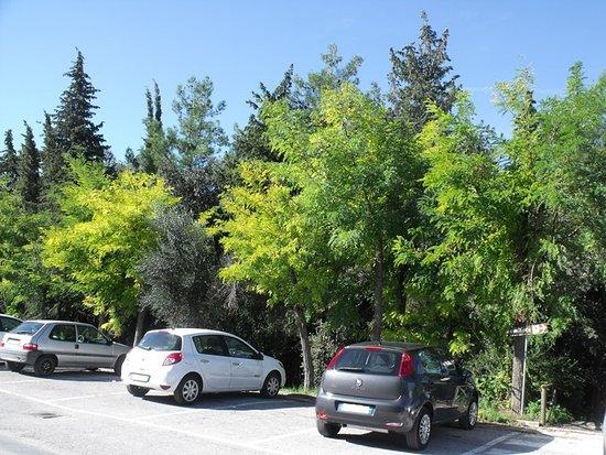 Il parcheggio del parco