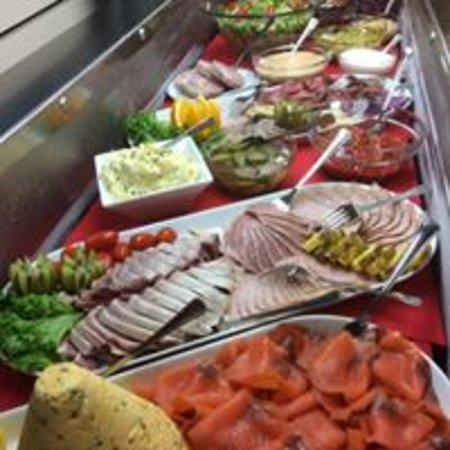 Vanse, นอร์เวย์: Søndags buffet