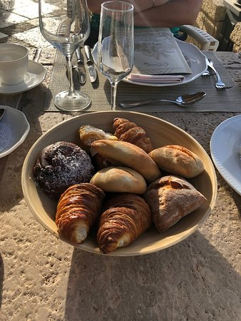 Fresh (and warm) pastries every morning