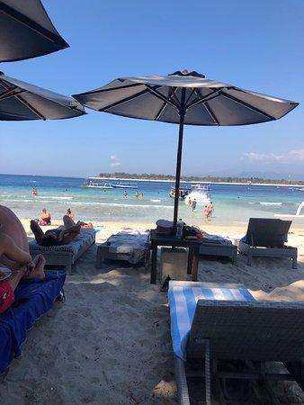 i lettini della spiaggia