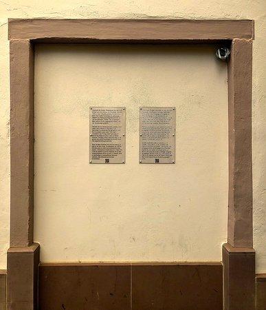 Der historische Ort der Mikwe im Judenviertel