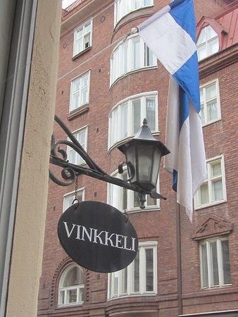 Ravintola Vinkkeli: outside restaurant