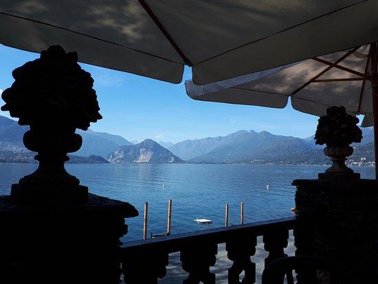 Isola Madre, Italië: Schöne Aussicht von der Terrasse