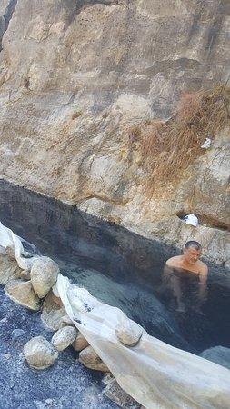 Gazipasa, Türkei: I am in natural hot spring.