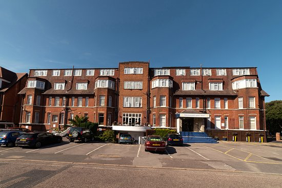 The Bournemouth Sands Hotel with plenty of guest parking