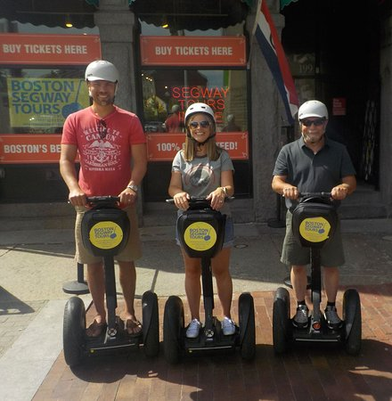 Riding your #cruise #ship into #BlackFalcon this fall? Whether it's #ReentSevenSeas or #SilverSea- find us near #FaneuilHall to see so much, in so little time! 😃 #Boston #Segway #Tours www.bostonsegwaytours.net