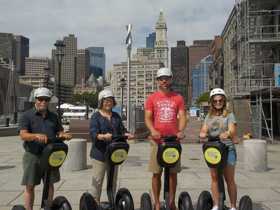 Riding your #cruise #ship into #BlackFalcon this fall? Whether it's #HollandAmerica  or #AIDA - find us near the #Aquarium to see so much, in so little time! 😃 #Boston #Segway #Tours www.bostonsegwaytours.net