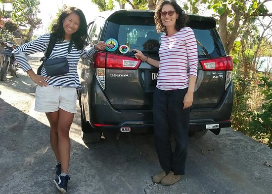 Gilimanuk, Indonesia: Thank you so much mrs.  Melanie and mrs.  Tessa for three time booking transport with us🙏
