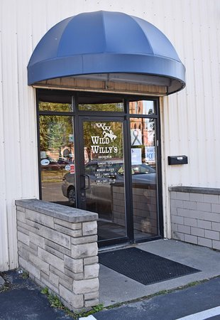 Entrance door to Wild Willy's