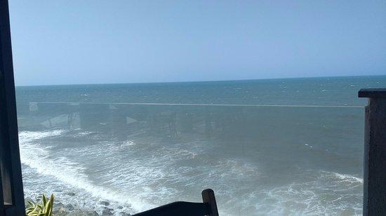 Local agradável...com vista para o mar...