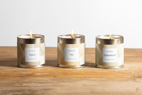 St Eval Candle Company: Eden Scented Tin Candles