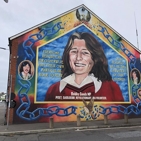 Bobby Sands, the first of the hunger strikers to die in 1981.