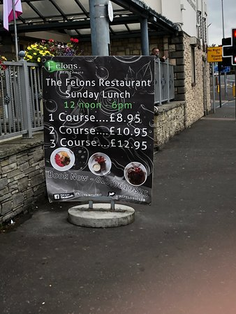 The Felons' Club, a nice place to eat.