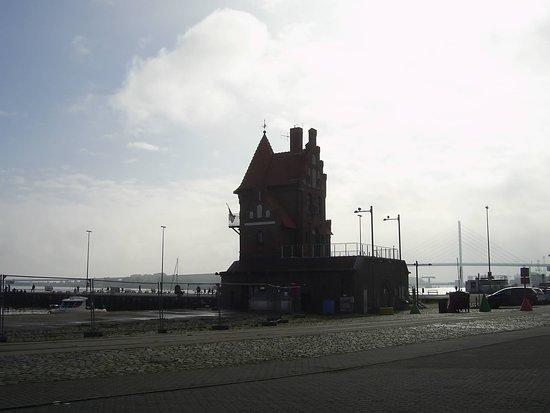 Stralsund, Německo: Das ist im Hafen Gebiet, zu sehen...