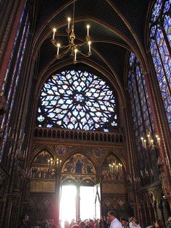 Sainte-Chapelle upper sanctuary