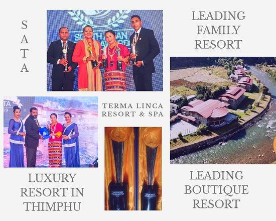 Glimpse of receiving SATA Awards at Sri Lanka