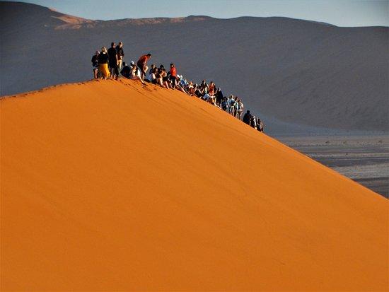 Excursion de 3 jours à Sossusvlei au départ de Windhoek : Sunrise on Dune 45