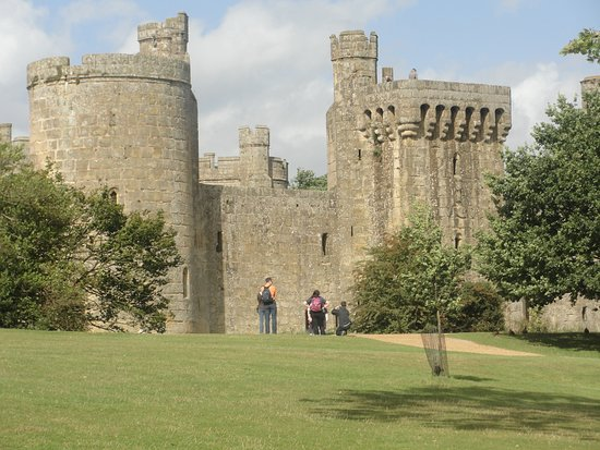 The wonderful Bodiam Castle