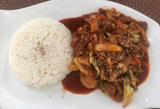 Délicieux plats coréens