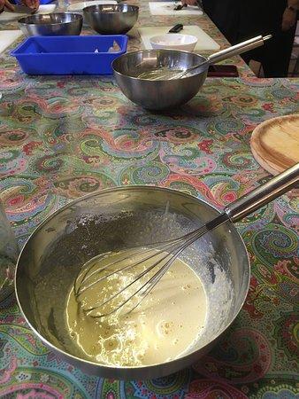 Preparing the Catalan Cream