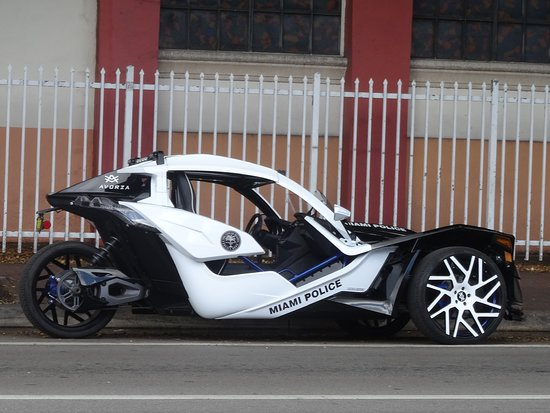Cool police vehicle