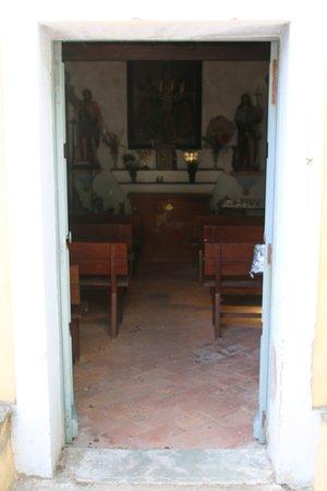 Vue extérieure de cette église