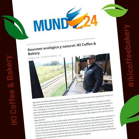 Agradecidos de cosechar los frutos de nuestro esfuerzo, siempre enfocados en seguir ofreciendo lo mejor a nuestros distinguidos clientes.  http://mundo24.net/2019/10/gourmet-ecologico-y-natural-iki-coffee-bakery/