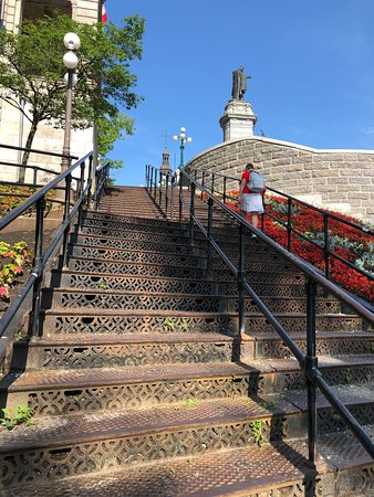 Mesto Québec, Kanada: Stairs, one of many in Quebec City
