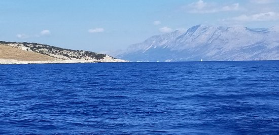 Greece has it all. This is just another view during another great day on the water in the Ionian Sea.