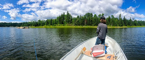 Nestor Falls, Canada: The scenery sometimes makes you put down your rod so you can take it all in.