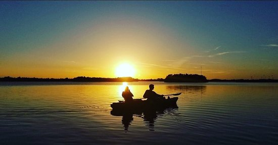 Sunset Kayak tours with Cocoa Kayaking at www.cocoakayaking.com!