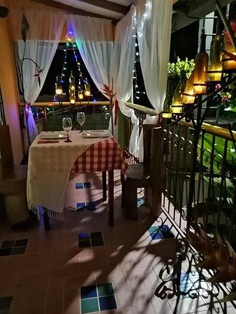 La Cumbre, Colombia: Cena Romántica