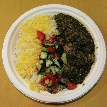 Ghorme Sabzi, piatto iraniano