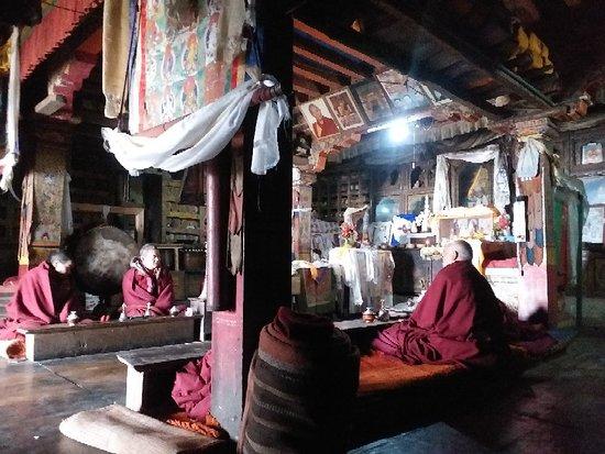 Mu Gumpa, Manaslu Tsum Valley Trek, Gorkha, Nepal  Trip organised by : mountainkingtreks.com ( info@mountainkingtreks.com ) +9779841566449