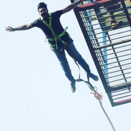Have a amzing jump with us @goabungy.  Visit Goa.