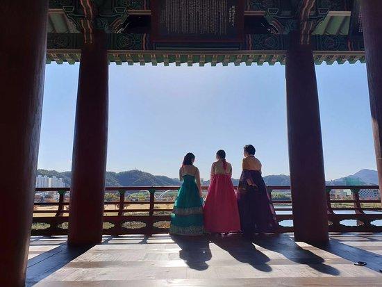 Wearing Hanbok