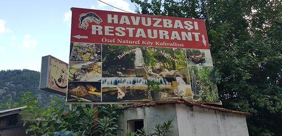 Havuzbaşı restaurant Kemer