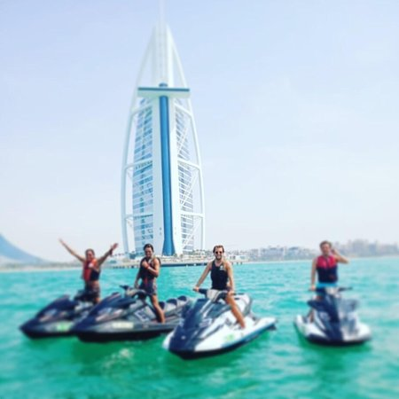 Jet Skiing in Dubai