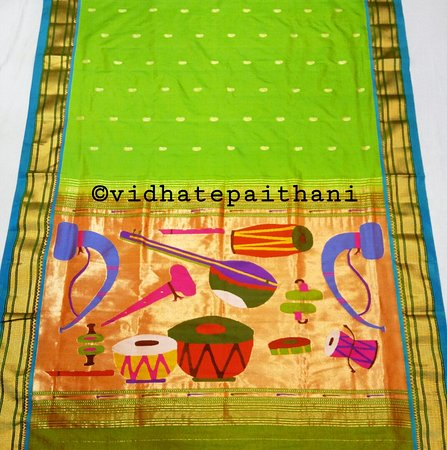 Vidhate Paithani And Silk Sarees